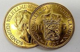 waarde gouden tientje, nederlandsche inkoopkantoor